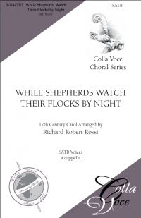 While Shepherds Watch Their Flocks by Night | 15-94030