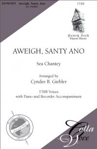 Aweigh, Santy Ano TTBB | 20-96365