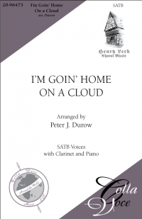 I'm Goin' Home On  A Cloud SATB | 20-96475
