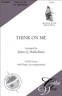 Think On Me SATB | 20-96895