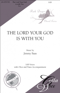 Lord Your God is with You, The - SAB | 24-95745