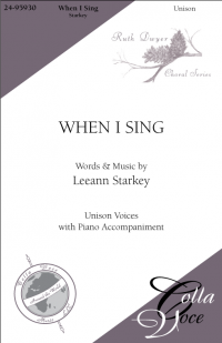 When I Sing - Strings | 24-95931