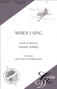 When I Sing - SA   24-95935