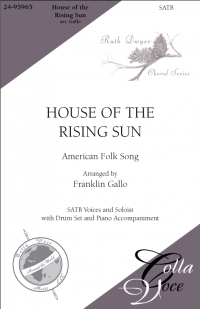 House of the Rising Sun SATB | 24-95965