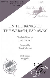 On the Banks of the Wabash-SATB  | 24-96445