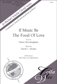 If Music Be The Food Of Love (SATB) | 36-20109