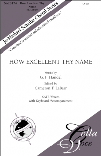 How Excellent Thy Name   36-20174